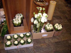 Bloemen trouw door Net Even Anders bloemenwinkel Dilbeek