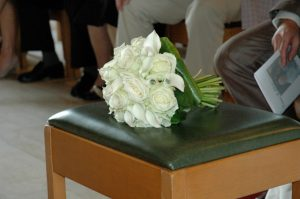 Bruidsboeket wit Net Even Anders