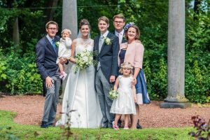 Trouwboeket bruidsboeket Net Even Anders Bloemenwinkel Dilbeek